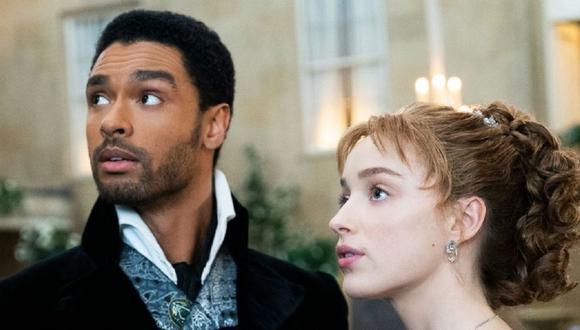 """Daphne y Simon tuvieron un hijo al final de la primera temporada de """"Bridgerton"""" (Foto: Netflix)"""