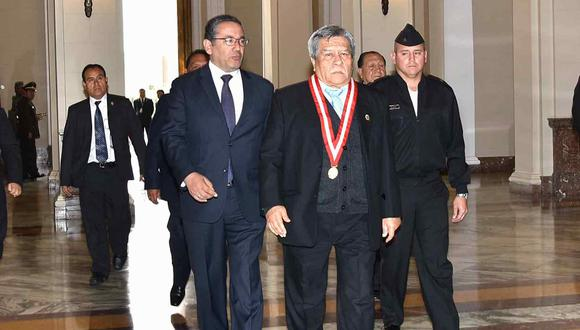 Walde Jáuregui jurará como jefe de la OCMA el 2 de enero. Su cargo es por tres años. (Foto: Poder Judicial)