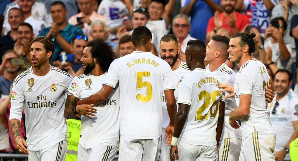 Real Madrid vs. Real Valladolid: mejores imágenes del partido. (Foto: AFP)