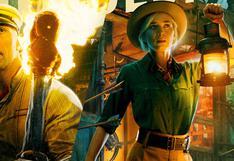 """""""Jungle Cruise"""": 'La Roca' y Emily Blunt nos cuentan cuál fue la escena más complicada de filmar"""