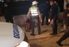 Piura: mujer reportada como desaparecida casi muere atrapada en un fango