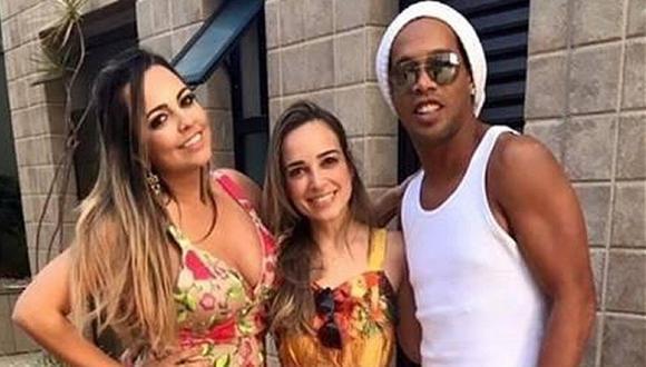 Ronaldinho se casará con dos mujeres en agosto, aseguran en Brasil. (Foto: Difusión)
