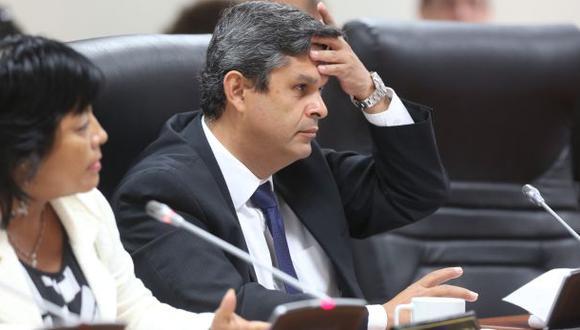 Santiago Gastañaduí es investigado junto con Ollanta Humala y Nadine Heredia por el financiamiento de las campañas presidenciales del Partido Nacionalista en el 2006 y 2011. (Foto: Alonso Chero / El Comercio)