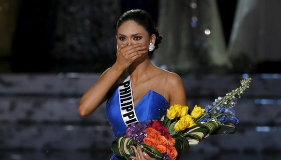 Miss Universo 2015, Pia Alonzo Wurtzbach, y el llanto de una felicidad que será finita. (Foto: Reuters)