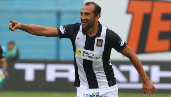 Hernán Barcos ha participado directamente en siete de los 16 goles que anotó Alianza Lima en esta temporada. (Foto: Liga 1)