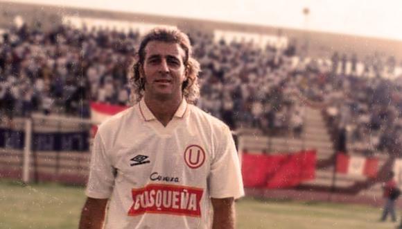 El brasileño Alex Rossi jugó 35 partidos por Universitario entre agosto de 1995 y junio de 1996. Anotó 8 goles. De esos, acaso el más recordado es el de la corrida a Cristal del 95. FOTO: Universitario de Deportes.