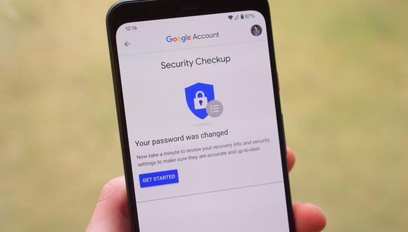 Google tendrá que verificar tu identidad para que puedas cambiar la contraseña de tu cuenta (Foto: Archivo GEC)
