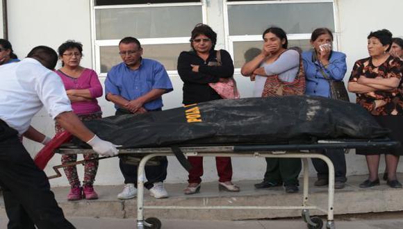 Morgue de Huacho colapsó con víctimas del alud de Churín