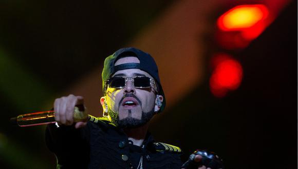 """Yandel presenta """"un manjar"""" con la ayuda de Rubén Blades y 27 artistas más. (Foto: AFP/Claudio Reyes)"""