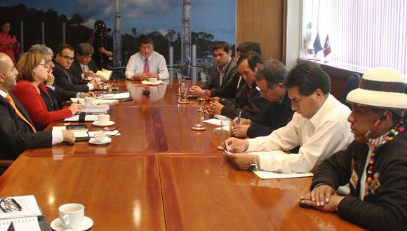 Las Bambas: alcaldes y ministros instalaron mesa de diálogo