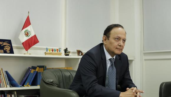 Walter Gutiérrez resaltó que el cuadernillo de extradición puede ser ampliado. (Foto: GEC)