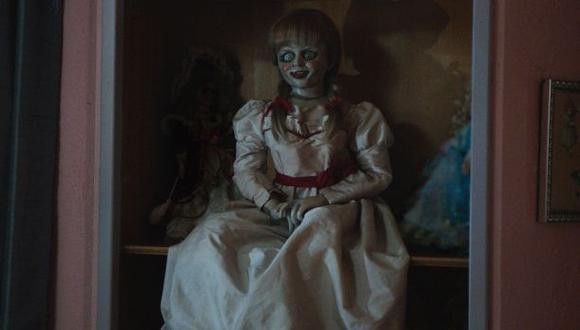 """""""Annabelle"""": ¿Dónde ver la película este fin de semana?"""