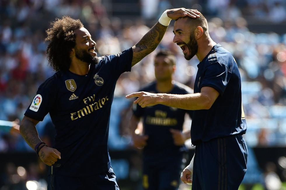 Real Madrid vs. Celta de Vigo: mira las mejores imágenes del partido de la Liga española. (Foto: AFP)