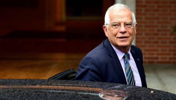 Josep Borrel, Ministro de Asuntos Exteriores de España, sostuvo la apertura de que contrarios a los principios y objetivos de la política exterior de España. (EFE)