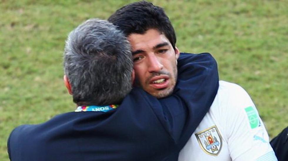 Tabárez no ve a Suárez como salvador de la selección uruguaya - 1