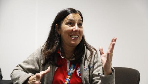 Lima 2019: Pauline Kantor, Ministra de Deportes de Chile, habló con El Comercio de lo que será los Juegos Panamericanos Santiago 2023. (Foto: Hugo Pérez)