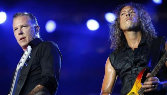 Metallica difundió este video de su paso por Lima