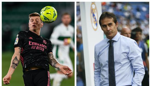 """Toni Kroos confesó que """"sintió mucho"""" la partida de Julen Lopetegui del Real Madrid"""