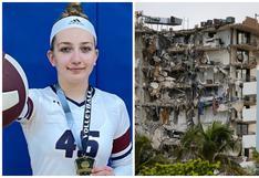 Jugadora de voleibol sobrevive al derrumbe en Miami y se disculpa por faltar al entrenamiento