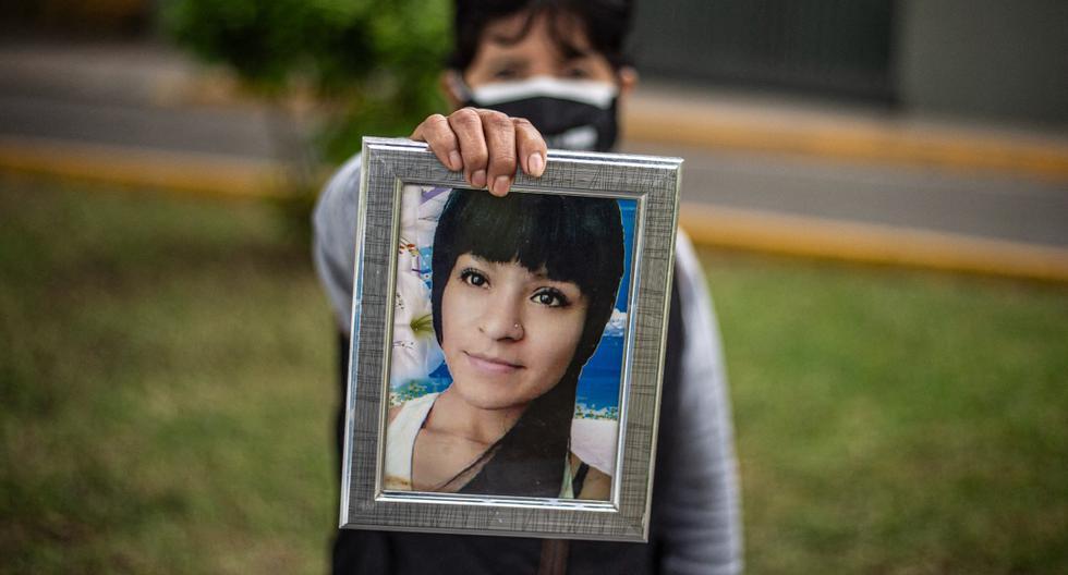 Norma Rivera, madre de Shirley, denunció que hubo contradicciones en versiones de amigos desde el inicio. (AFP)