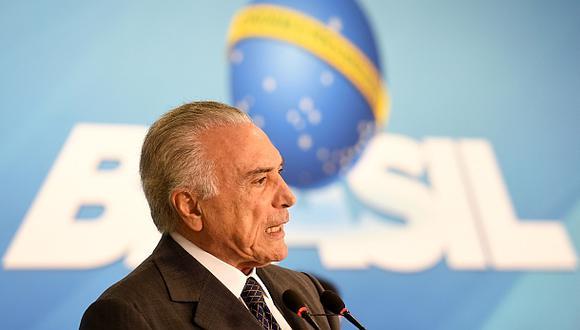 """Temer: """"Brasil derrotará la crisis en el 2017"""""""
