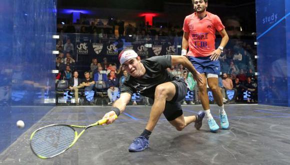 Diego Elías avanzó a la final del US Open de Squash. (Foto: PSA World Tour)