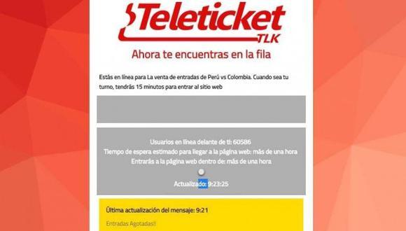 El presidente de Aspec, Crisólogo Cáceres, pidió a los consumidores que les haga llegar sus reclamos contra Teleticket al correo electrónico reclamos@aspec.org.pe o mediante el inbox de Facebook.