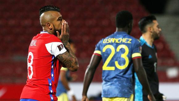 Chile perdió ante Uruguay y empató con Colombia. (Foto: Reuters)