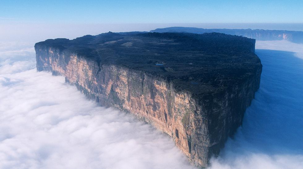 Sobre las nubes: Conoce el espectacular monte Roraima  - 1
