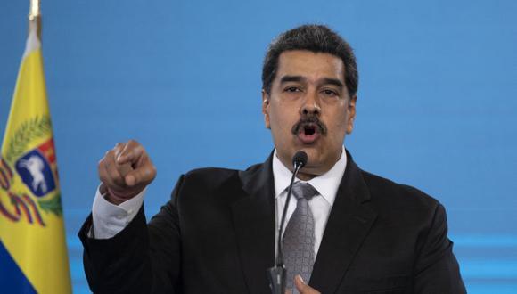 El presidente venezolano Nicolás Maduro durante una conferencia de prensa en el Palacio Presidencial de Miraflores en Caracas. (Foto: Archivo/ Yuri CORTEZ / AFP).