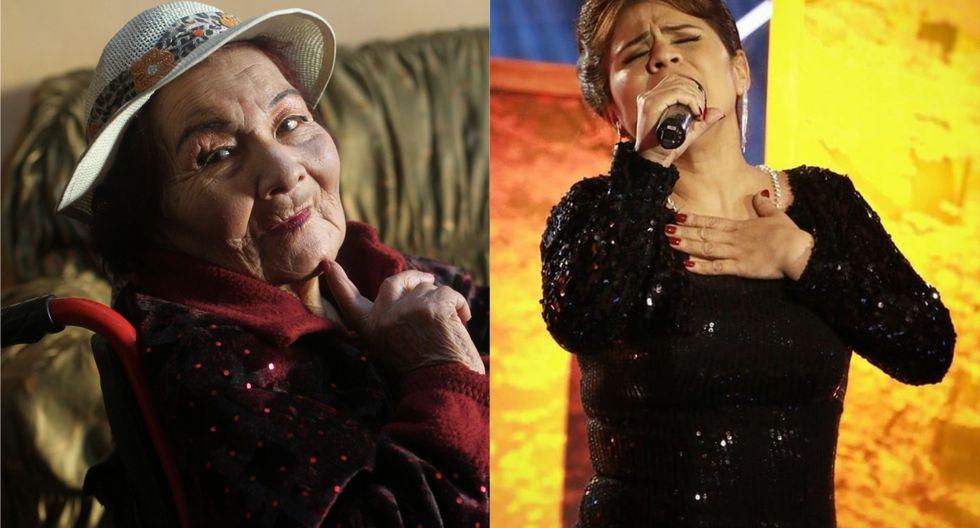 Hija de Carmencita Lara envía advertencia a imitadora de la cantante (Foto: composición)