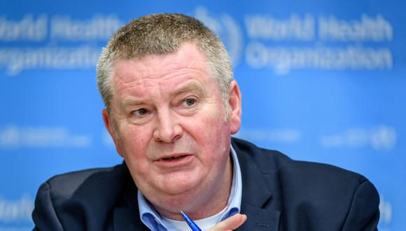El director ejecutivo de Emergencias Sanitarias de la OMS, Mike Ryan. (Foto: Fabrice COFFRINI / AFP).