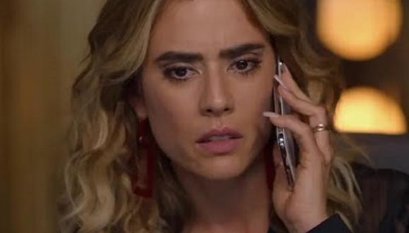 """Yeimy recibe una mala noticia en el cuarto capítulo de la segunda temporada de """"La reina del flow"""" (Foto: Caracol TV)"""