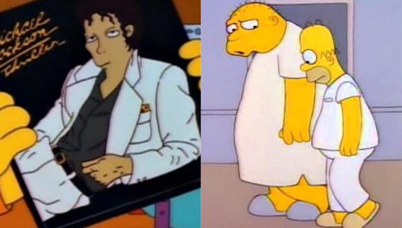 Los Simpson retiran episodio en el que aparece Michael Jackson tras denuncias de abuso sexual en su contra. (Foto: Composición/Captura)