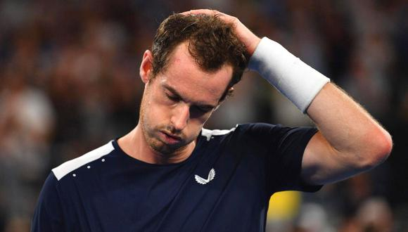 Andy Murray quedo fuera del Abierto de Australia (Foto: AFP)