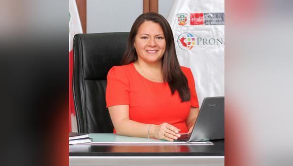 El último cargo que ocupó Chocobar Reyes fue el de directora ejecutiva del Pronabec. Días atrás, anunció un programa del Gobierno para entregar más de 20.000 becas. (Foto: El Comercio)
