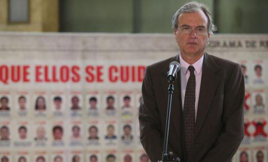 """""""Hemos tenido mejores y peores ministros del Interior desde entonces. Pero la guerra contra la inseguridad se ha perdido sistemáticamente"""". (Foto: Miguel Bellido/El Comercio)"""