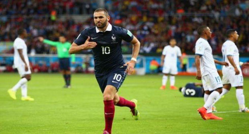 Karim Benzema se refirió a los sentimientos que le transmite jugar por la selección de Francia. (Agencias)