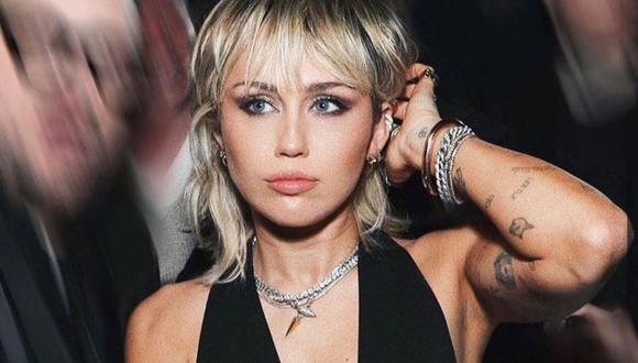 Miley Cyrus se presentó en los MTV Video Music Awards 2020. (Foto: @mileycyrus/Instagram).