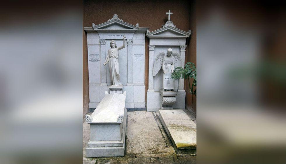 Las tareas de exhumación en el cementerio teutónico del Vaticano comenzaron a las 8.15 horas. (Foto: AFP)
