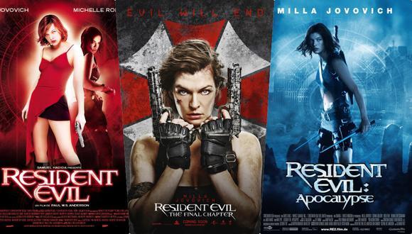"""El mejor orden para ver las películas de """"Resident Evil"""". (Foto: Difusión)"""