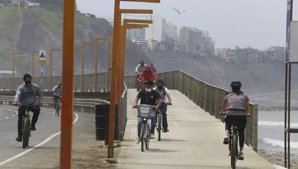 La evacuación de la vía se llevará a cabo media hora antes de la apertura de la Costa Verde y sus accesos. (Fotos: Jessica Vicente/@photogec)
