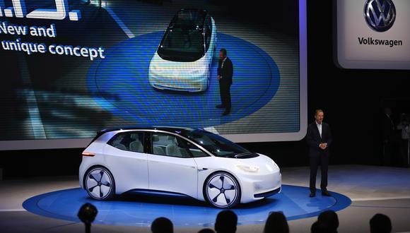 Modelo eléctrico de Volkswagen presentado por Herbert Diess