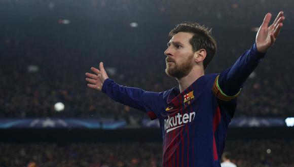 El delantero del Barcelona Lionel Messi tiene 32 goles y acumula 64 puntos. (Foto: AFP)