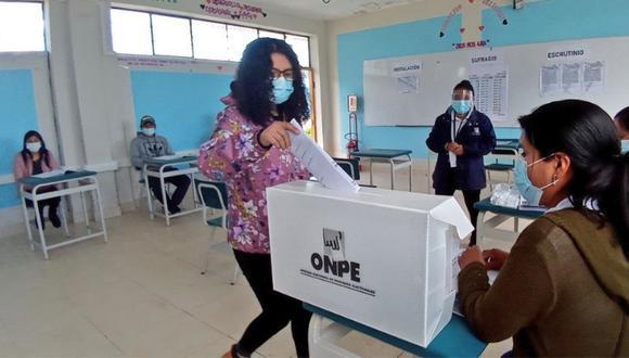 Las elecciones 2021 en el Perú se realizaron el último domingo 11 de abril | Foto ONPE / Referencial