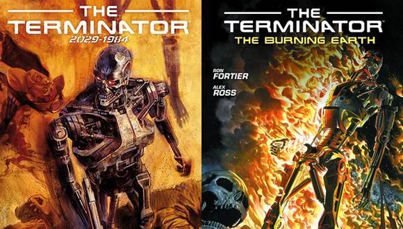 """""""Terminator"""": el cyborg de Arnold Schwarzenegger en el cómic"""