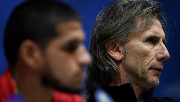Gareca brindó referencias a Vélez cuando se interesó en Abram y terminó llevándoselo de Sporting Cristal. (Foto: AFP)