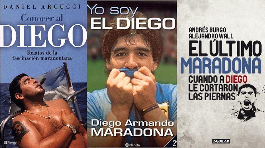 Once libros para entender por qué aman y odian a Diego Armando Maradona
