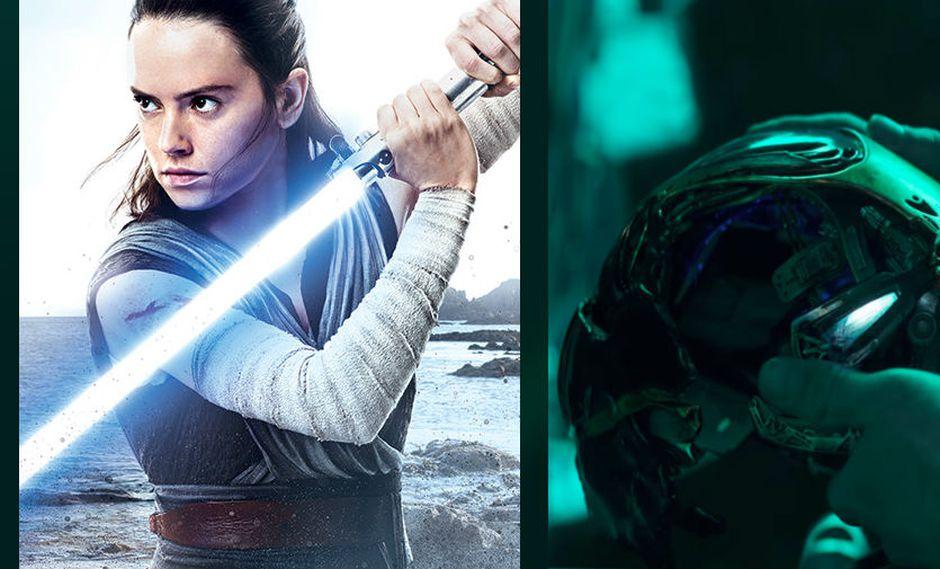 """""""Star Wars: Episodio 9"""" y """"Avengers: Endgame"""" son los tráilers más esperados por todos sus fanáticos.  (Foto: Disney)"""