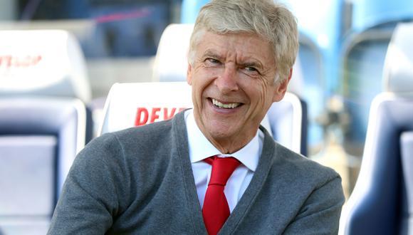 Arsene Wenger, entrenador francés de 70 años. (Foto: AP)